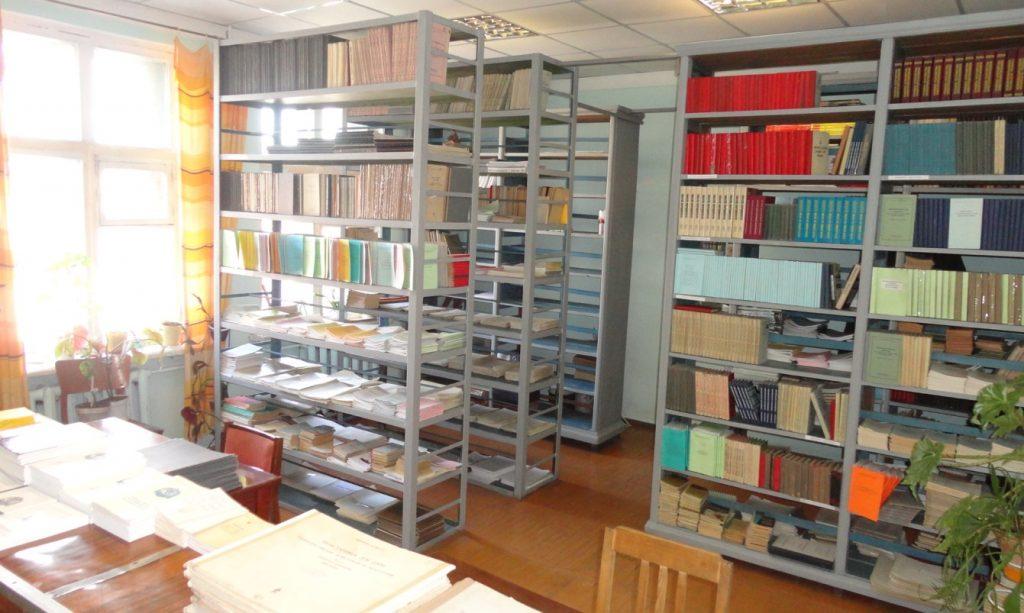 Бібліотека кафедри військової підготовки